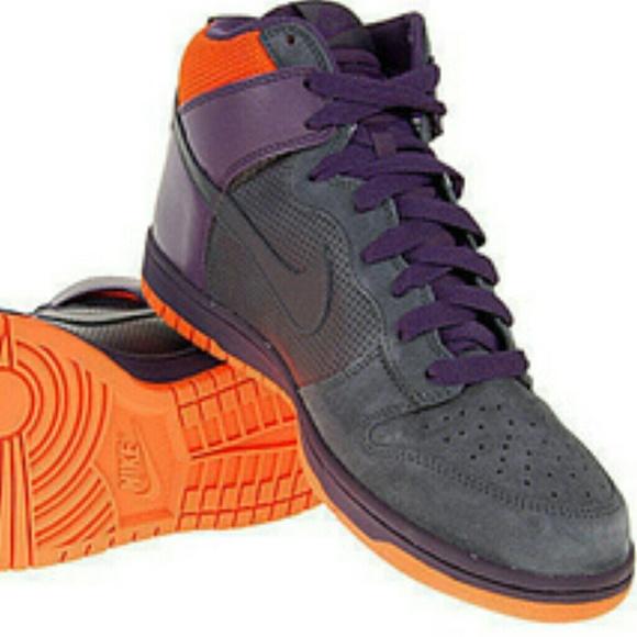 best website 6ff2c f98f5 Nike Dunk High Jordan Retro 1 Phoenix Suns Grey