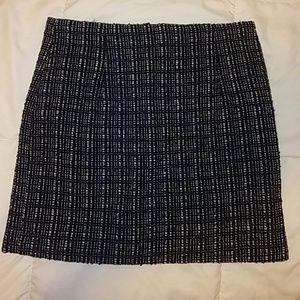 Wool mix skirt