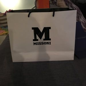 Large Missoni Shopping Bag
