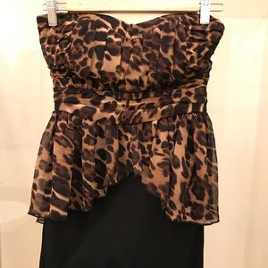 🌻 NWT 🌻 Sexy Animal Print mini dress