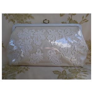 Unique Vintage mix media Decorative Clutch