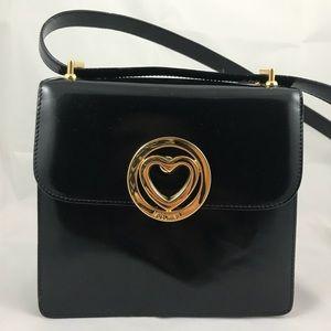 Vintage MOSCHINO Patent Leather Shoulder Bag