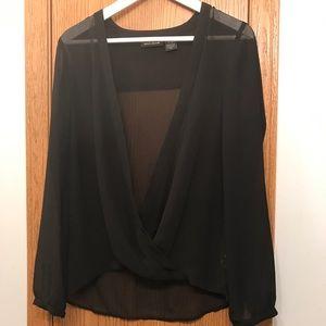 DKNY Sheer Blouse for Women