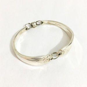 Jewelry - Vintage Silver Daffodil Spoon Bracelet