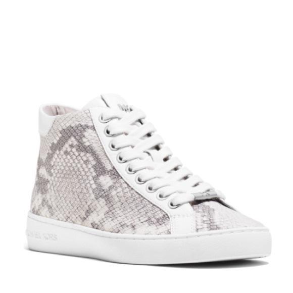 617b986d162 MICHAEL Michael Kors Shoes | Michael Kors Pratt Snakeskinsneakers ...