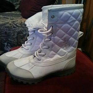 Ralph Lauren polo boots size 8