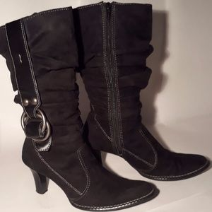 Boots * Mid Calf * Faux Suede