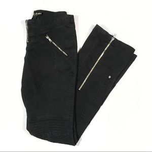 Y2K Guess Low Rise Straight Leg Moto Jeans