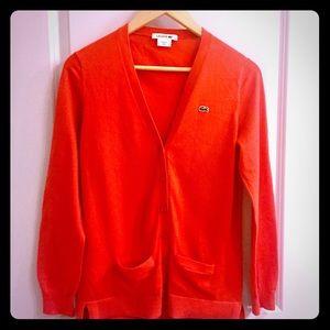 Stunning Lacoste Cardigan Size 38