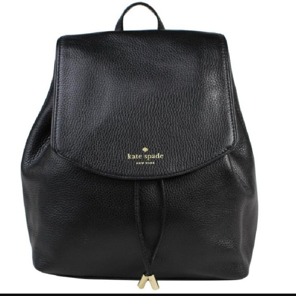 c0d919d72 kate spade Handbags - NEW Kate Spade Black Leather Small Backpack