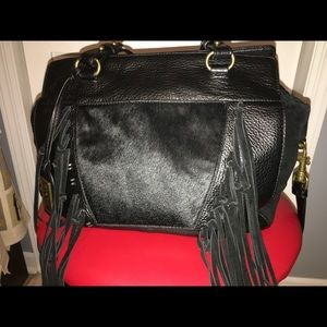 Badgley Mischka black  satchel