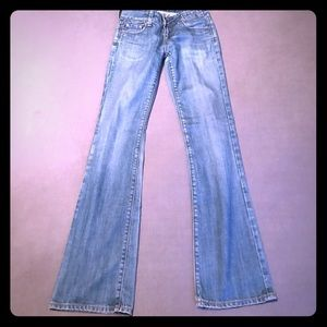 Vigoss Carolina size 26 jeans boot cut see pics