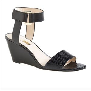 """Louise et Cie """"Fiona"""" Ankle Strap Wedge Sandal"""