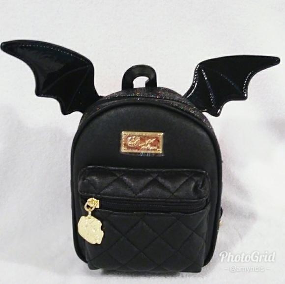 22b7a4e6ca Luv Betsey Bat Mini Backpack
