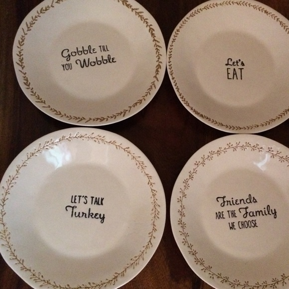 Rae Dunn inspired small pie plates. Set of 4 & Other | Rae Dunn Inspired Small Pie Plates Set Of 4 | Poshmark
