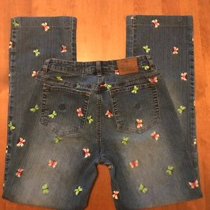 Lilly Pulitzer Butterfly Jeans - Size 6