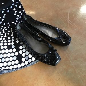 Patent leather Paolo ballet flats