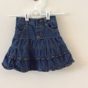 Children's Place Denim Skort