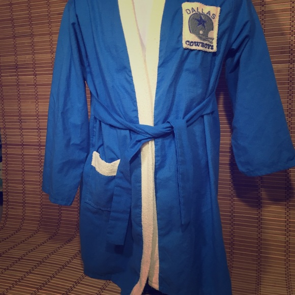 dallas cowboys bathrobe for women
