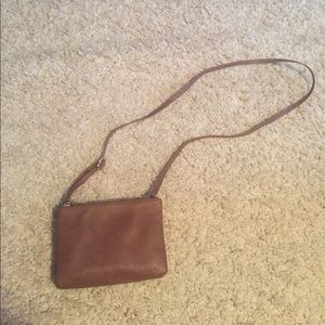 Brown cross body. Gently used: no flaws!