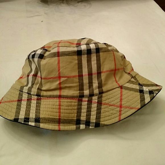 5bc22f95ac4ba0 Burberry Accessories | Nova Check Reversible Bucket Hat | Poshmark