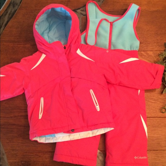dbbaefaaa0fe5 Columbia Other - Toddler Girl Columbia Snowsuit and Jacket