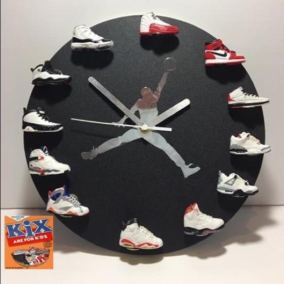 0a87ab3d102a Custom made Jordan Wall Clock. M 59df690dfbf6f908de02ecc3
