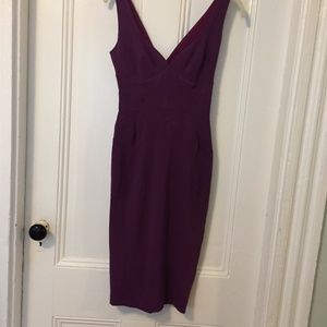 Zac Posen Wiggle Pencil Bodycon Dress 0