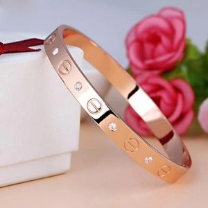 Jewelry - 18k Rose Gold Plated Bracelet with CZ Accent
