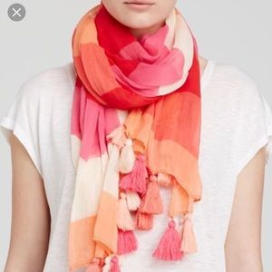 Kate Spade Ombré Scarf with Tassel Detail