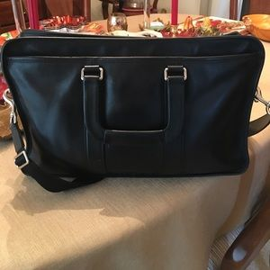 Coach Black Briefcase