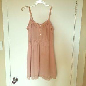 Soft pink vintage dress