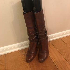 BCBGirls Chestnut Brown Heeled Boots