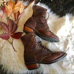 western fringe riding boots
