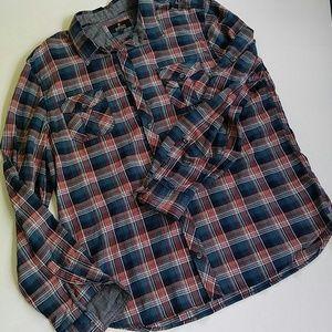 NWOT Buffalo David Bitton plaid shirt XXL TTG