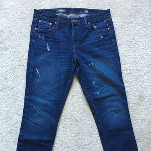 JCrew Broken In Boyfriend Jeans in Traction Wash