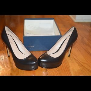 Genuine leather Pour La Victoire platform pumps
