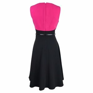 Calvin Klein Dresses - Calvin Klein Pink, Black and White Princess Dress