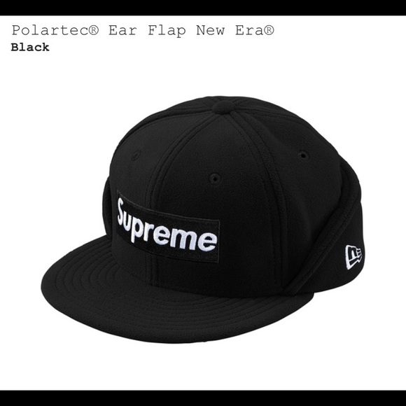aeaa3b055cd Polartec Ear Flap Hat by Supreme Era