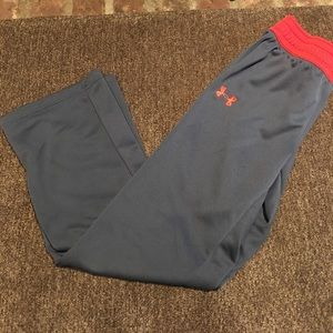 Under armour pants for youth girl size large