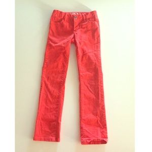 Other - 3 for $30 SALE! Red Straight Leg Skinny Jeans