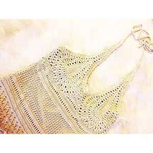 Croquette & Lace Maxi Dress