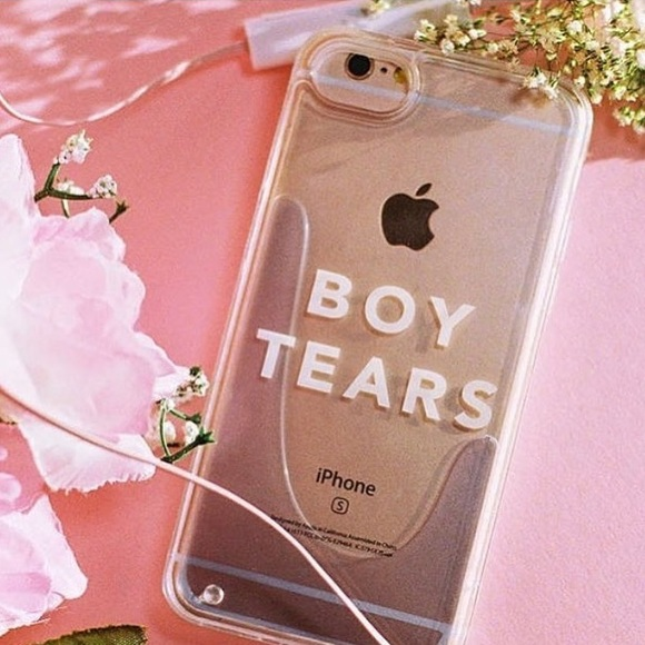 new product 3e7d6 24ad5 NEW: Uban Outfitters Boy Tears Phone Case NWT