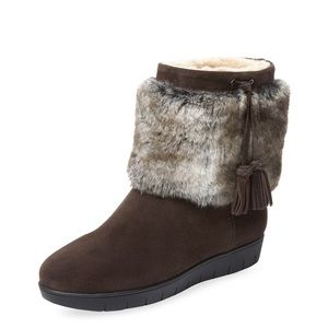 Aquatalia Faux Fur Lined Boots