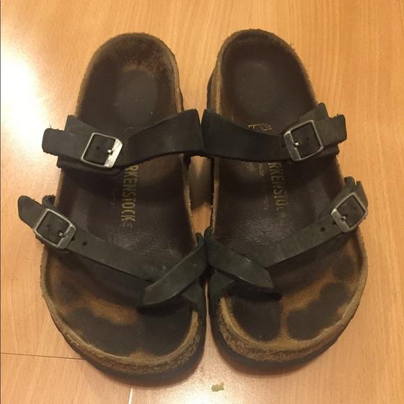24b68a79dae Birkenstock Shoes - Birkenstock Mayari 37 R Oiled Leather