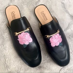 New without tags. Black mules