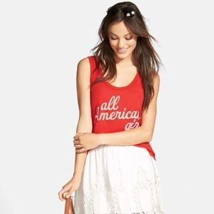 "NWTs Wildfox ""All American Girl"""