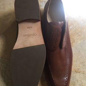 Men's Leather Calvin Klein Dress Shoes