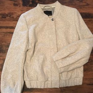 Banana Republic Wool Blend Bomber