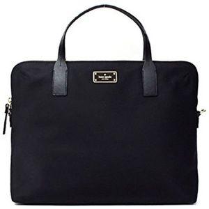 🆕 Kate Spade black nylon laptop bag